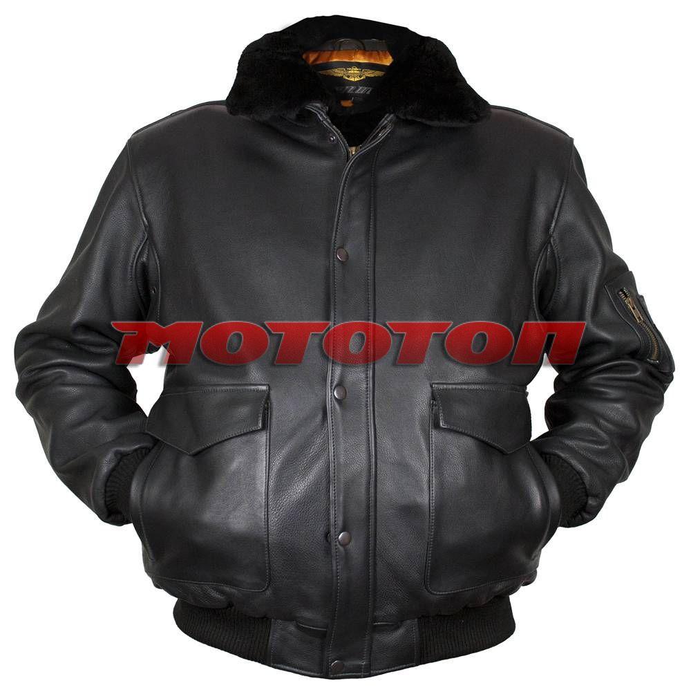 Куртка Pilot Gold G-1Зимняя тёплая кожаная куртка, выполнена из натуральной мягкой высококачественной козьей