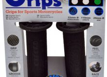 Oxford Sports grips(pair), Soft - Мягкий, Серый, 119 мм