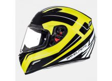 Шлем интеграл MT MUGELLO JEROME gloss white/anthracite/fluo yellow