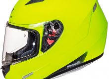 Шлем интеграл MT MUGELLO SOLID gloss/yellow/fluo